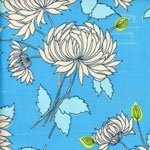 Amy Butler Belle Chrysanthemum in Blue