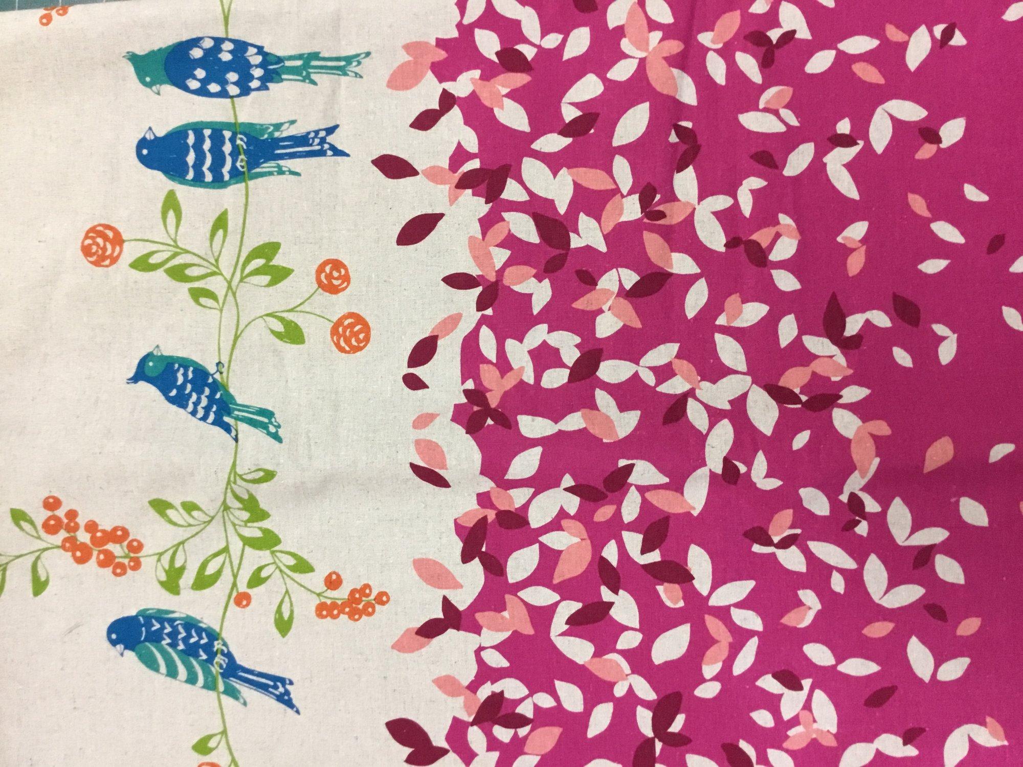 Echino Birdsong - Pink