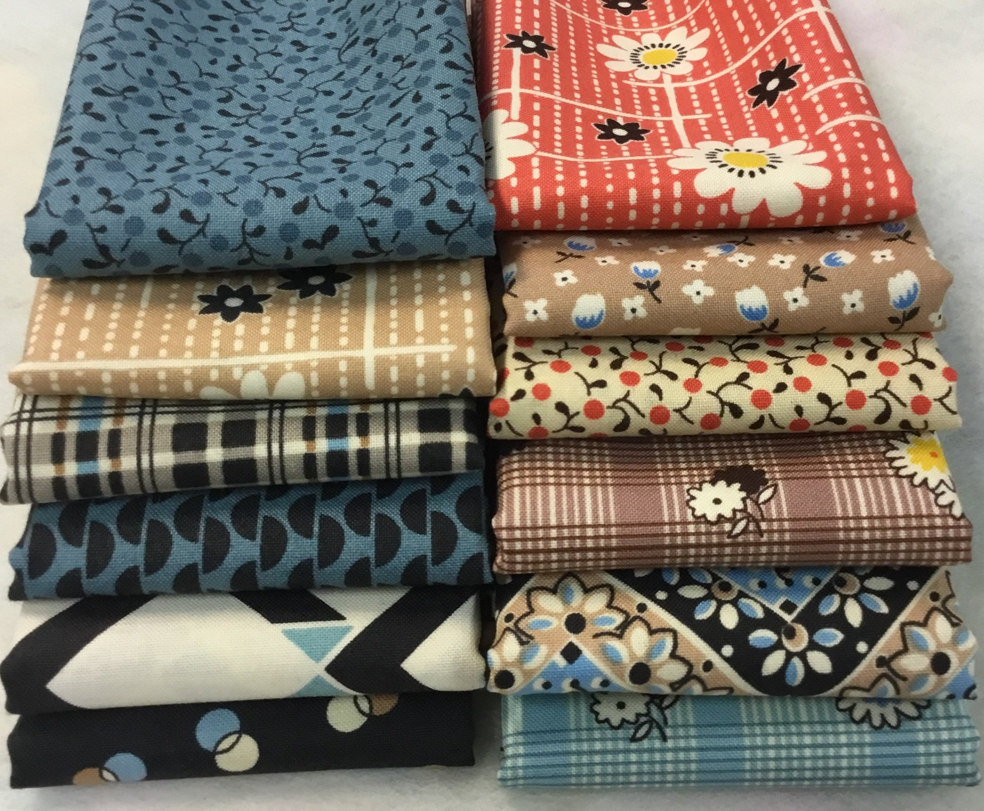 Denyse Schmidt Fabric pack - Fat 8ths