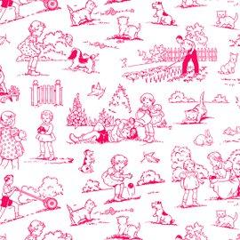Garden Toile - Pink