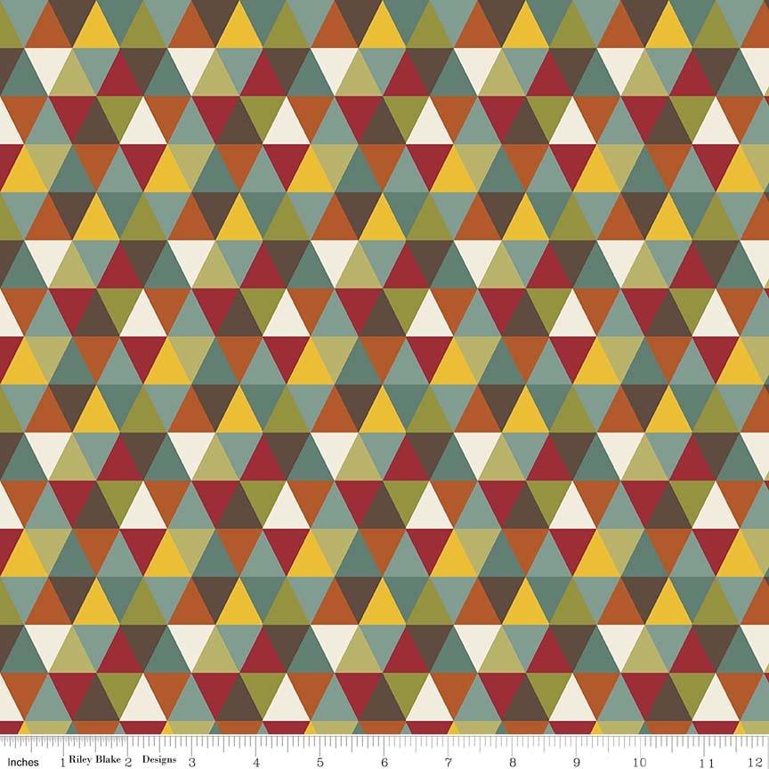 Giraffe Crossing 2 - 6152 Multi triangle