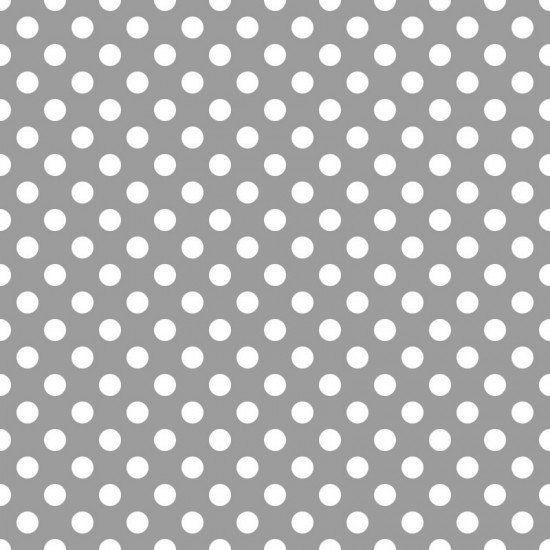 Grey with White Spot - 89090