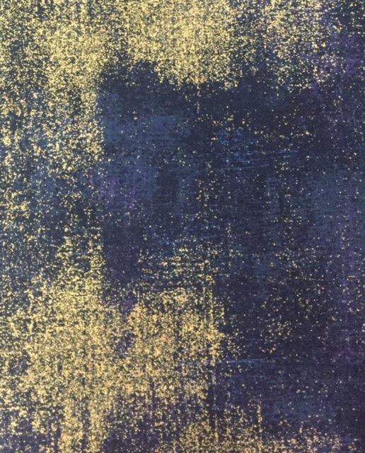 Grunge Metallic - Navy Blue - M30150-353