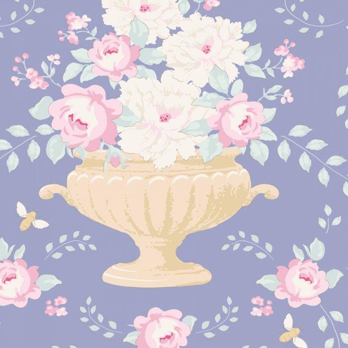 Happy Campers - Flowerbees Blue 100221