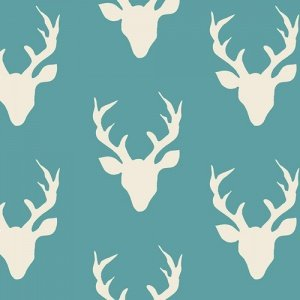 Buck Forest - Teal