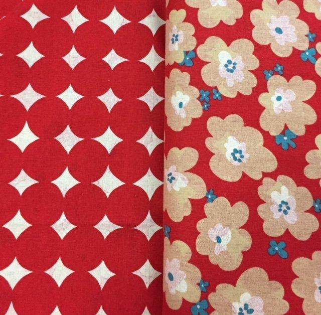 Floral/Spot  Reversible - 85808-1B