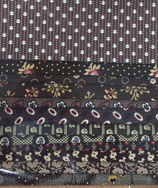 Reproduction Scrap Pack - Dark Brown II