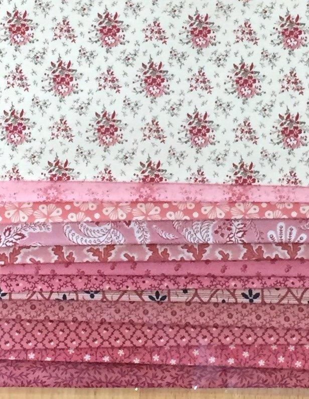 Reproduction Scrap Pack - Pink II