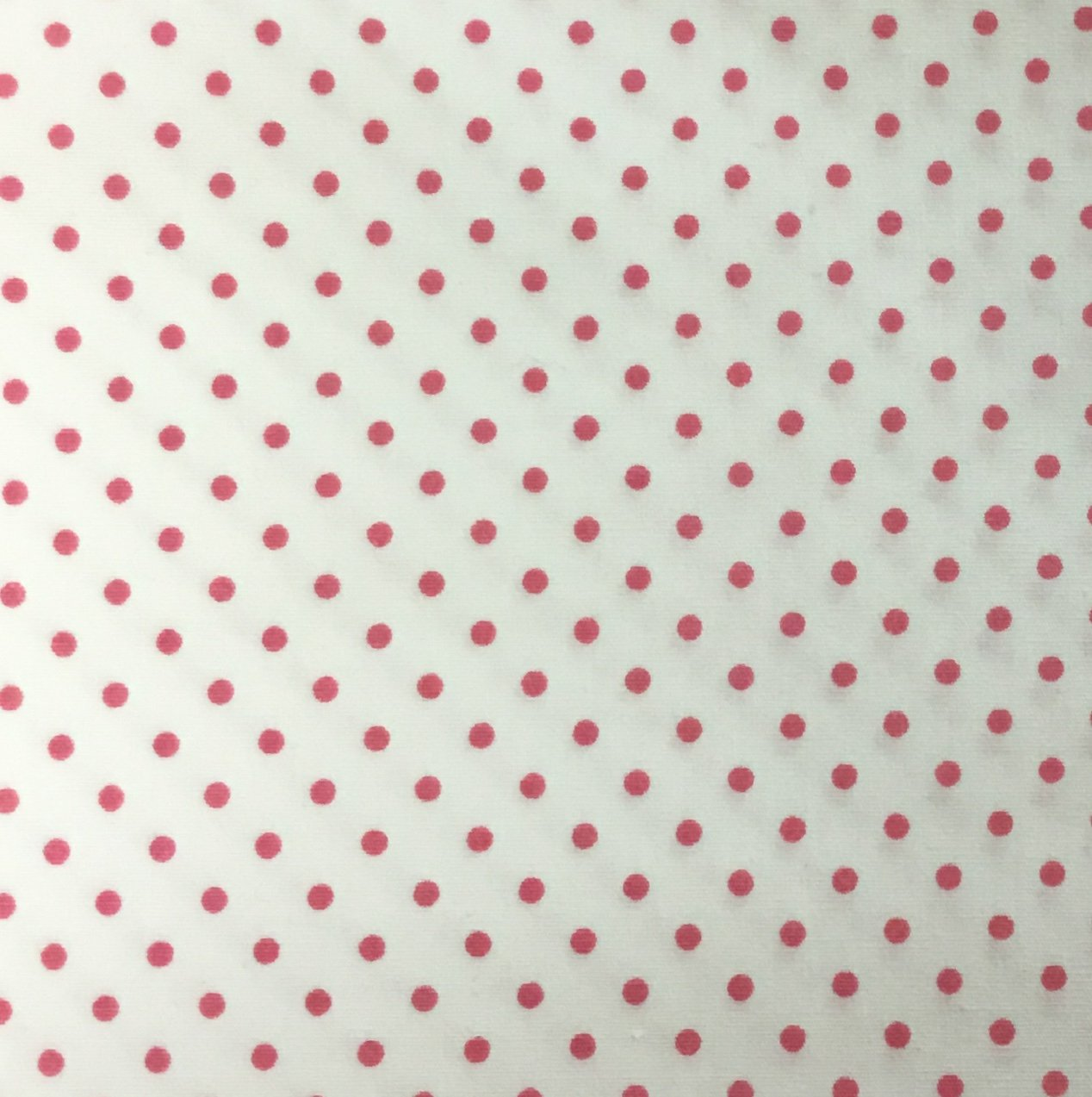 Hot Pink Spots on White - 88190-2-21