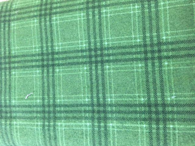 Woolies Flannel F18142 Green