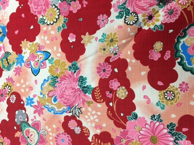 Red & Pink Floral  - 788