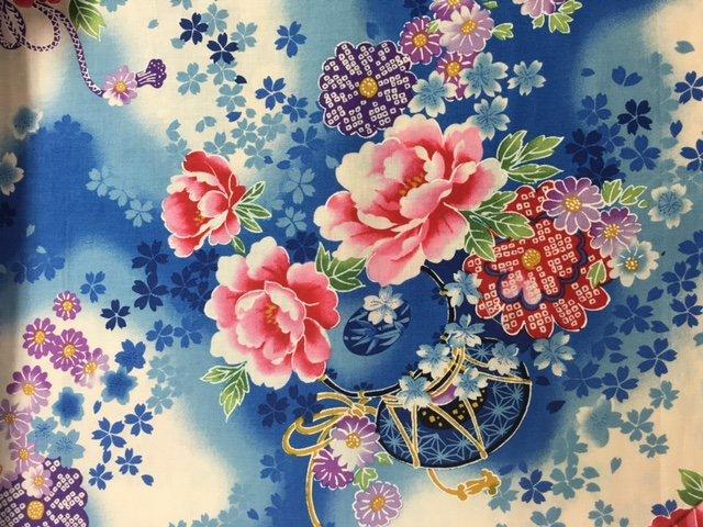 Blue Floral - 424