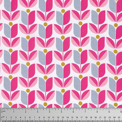 Joel Dewberry -True Colors-Tuplip - Pink