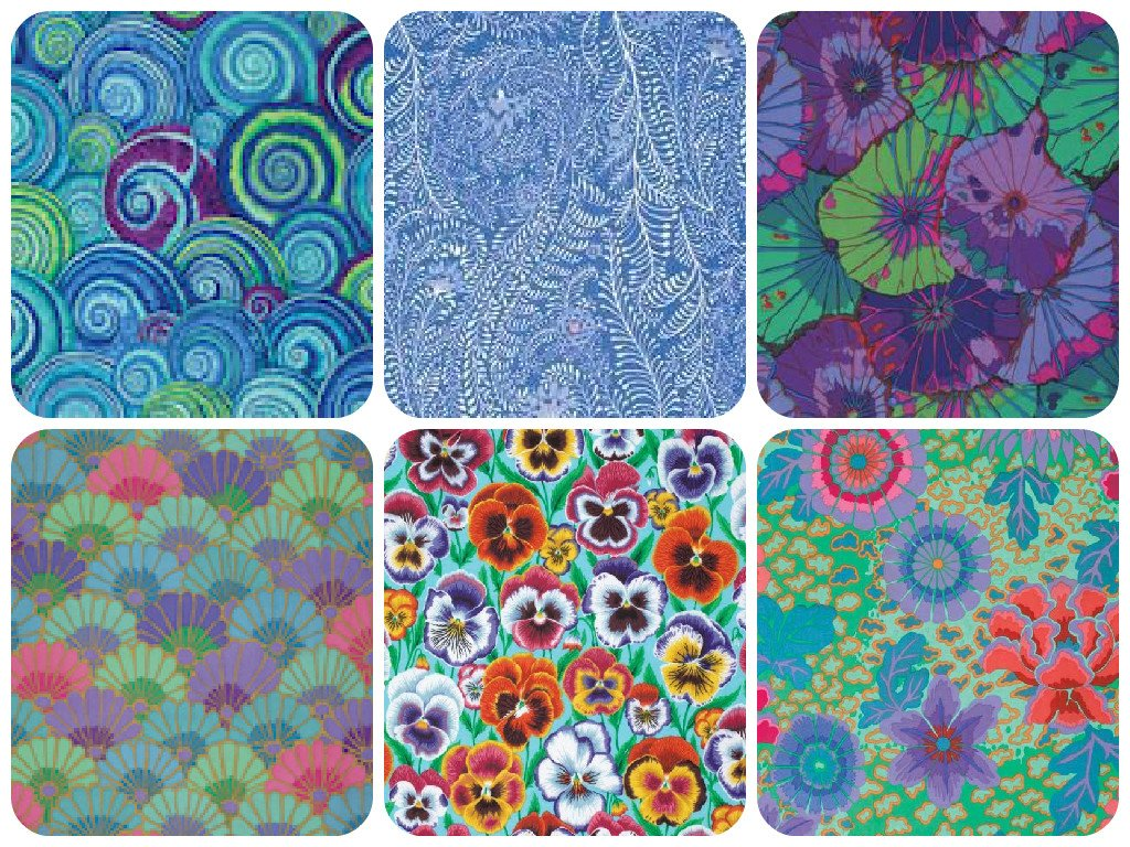 Kaffe Fassett Collective Monthly Fabric Club