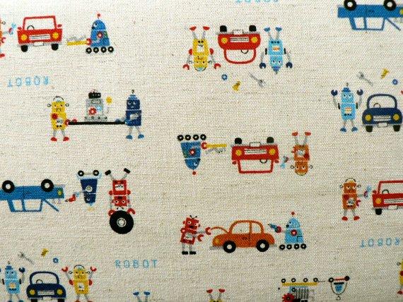 Kokko Robots Fabric A