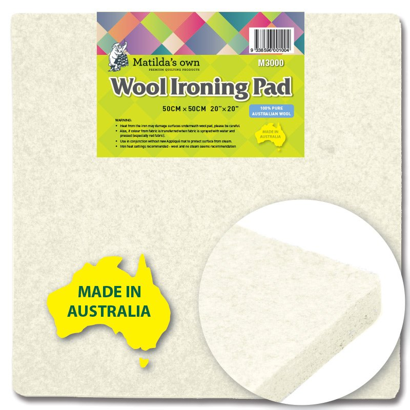 Wool Ironing Mats by Matilda's Own
