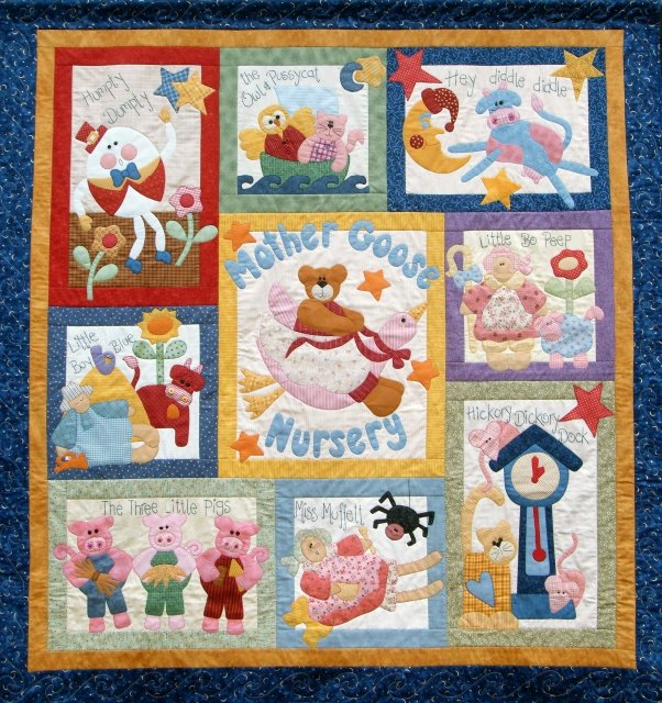 Mother Goose Nursery Pattern only
