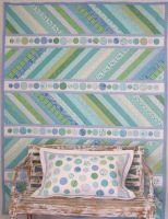 Sea Spray Quilt and Pillow