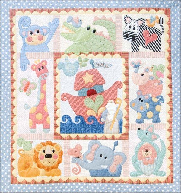 Noah & Friends Pattern Only