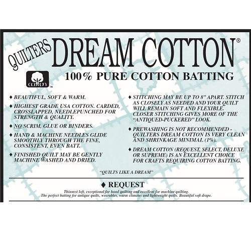 Quilters Dream Wadding - King - Select - Natural