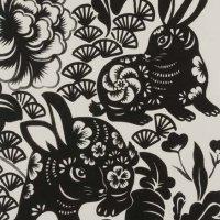 Indochine - Usagi Rabbit - Black