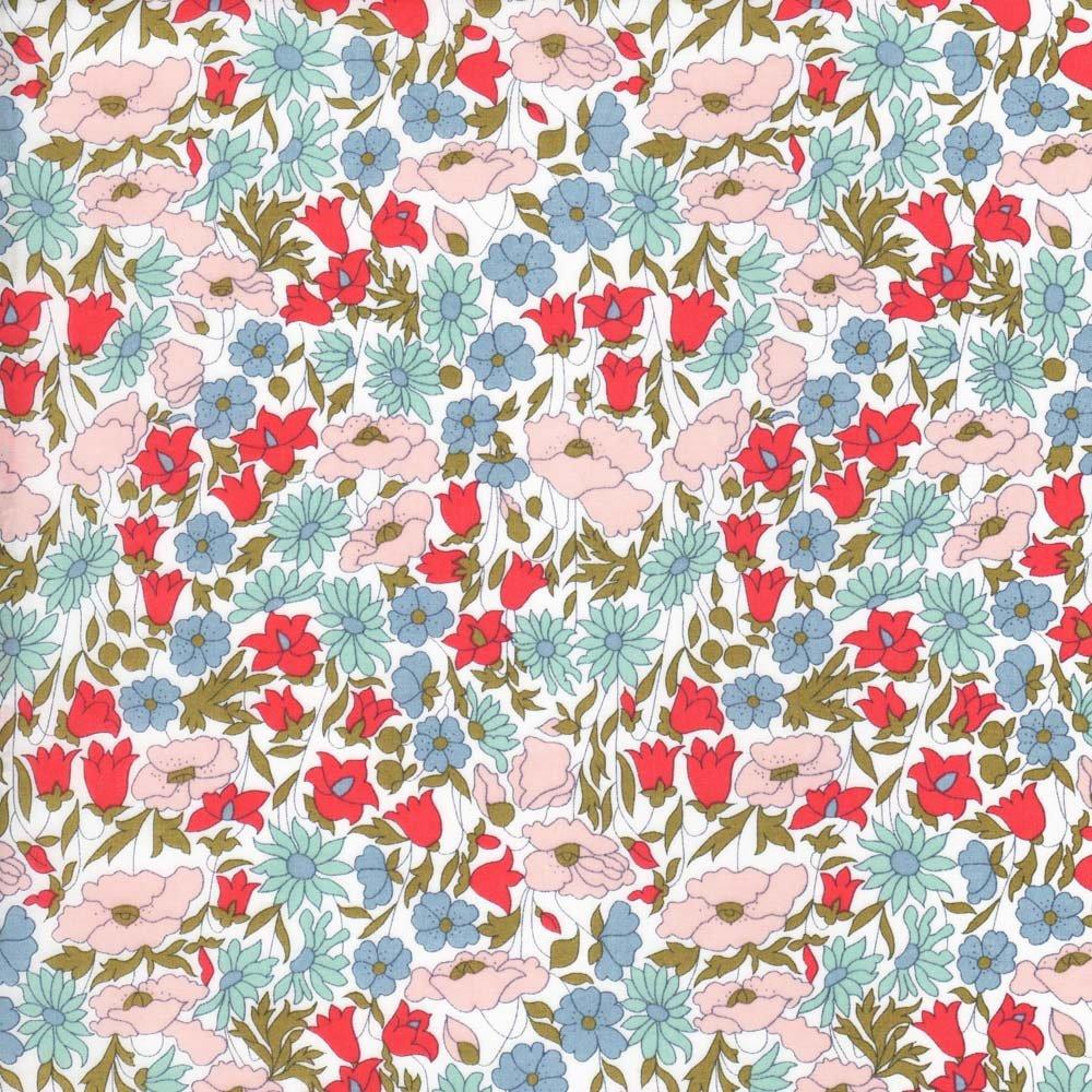 Liberty Tana lawn -Poppy & Daisy - A