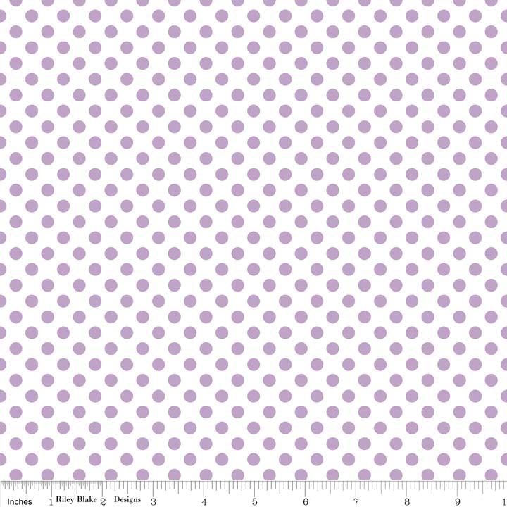 Dots Small Lavendar C480-120