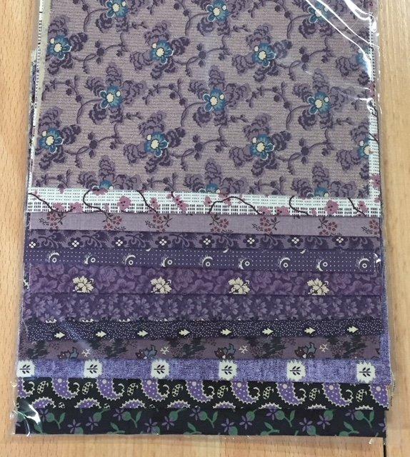Reproduction Scrap Packs - Purple/Mauve