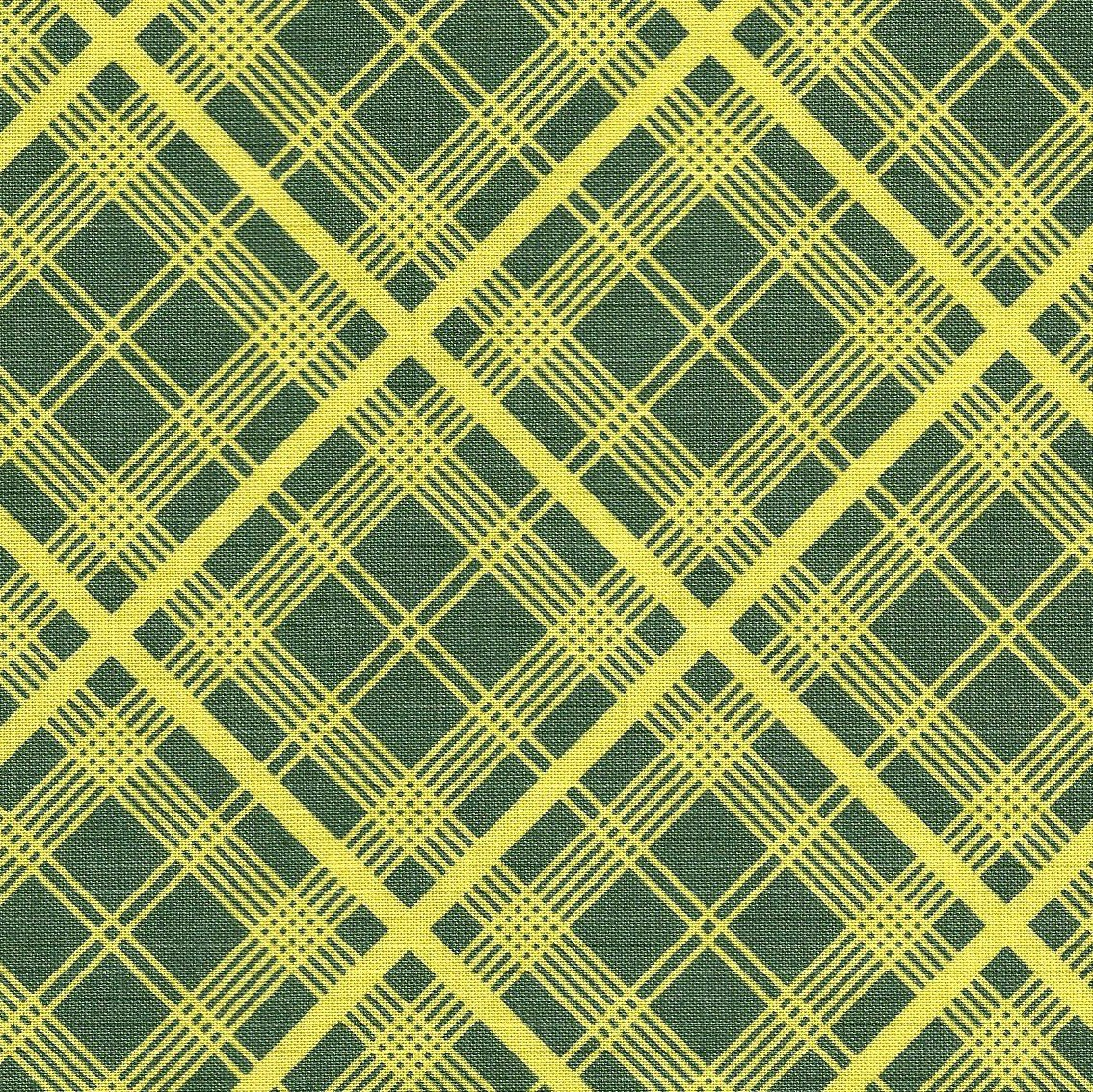 PWDS032 Simple Plaid in Lime