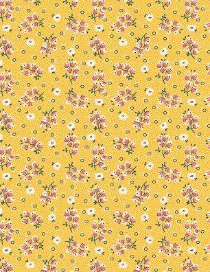 Chicken Scratch - Flower & Circles Gold - TM98627513
