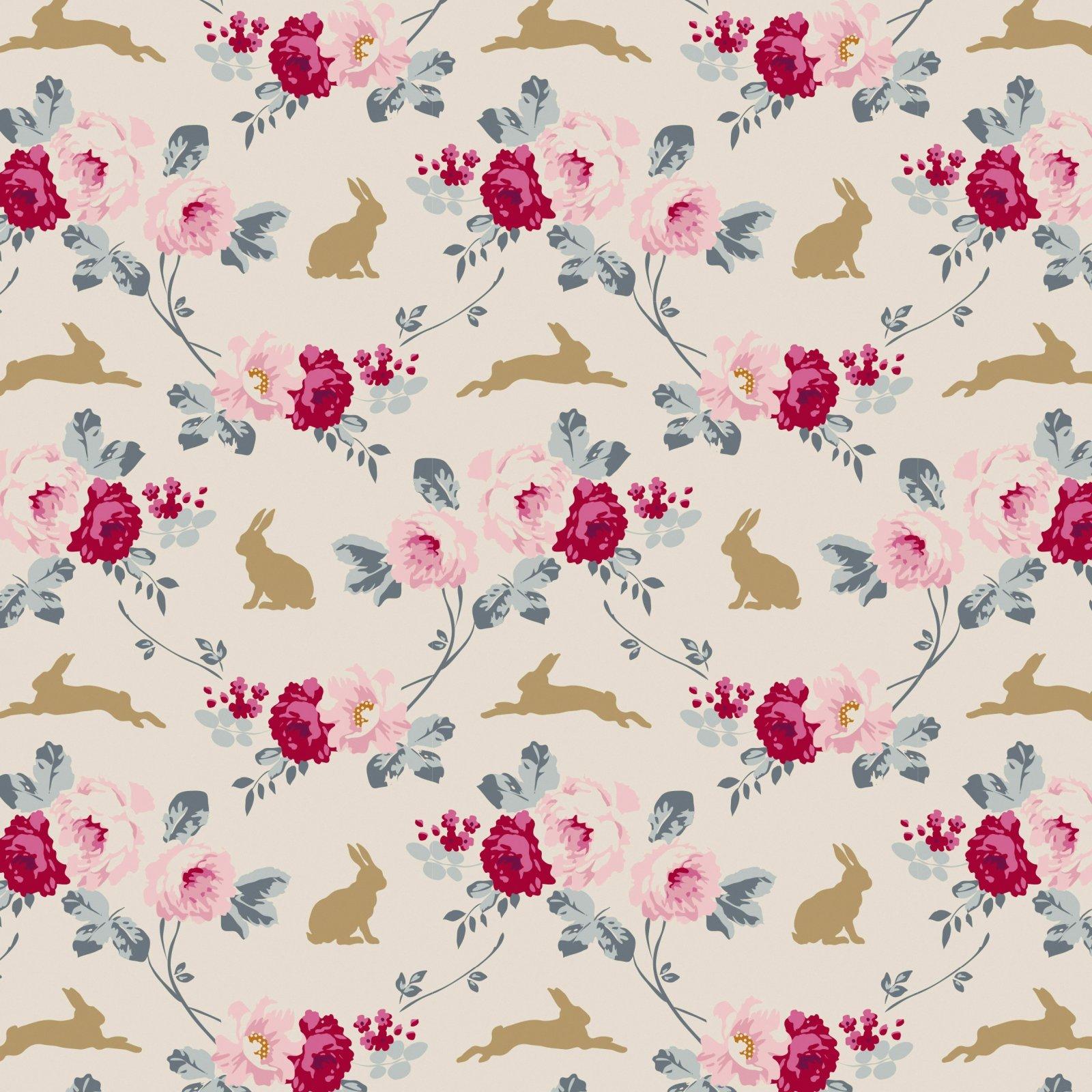 Rabbit & Rose -Tilda