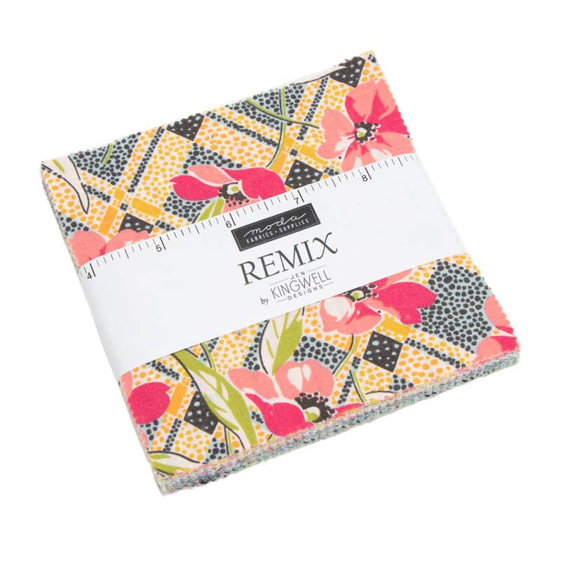 Remix Charm Squares by Jen Kingwell