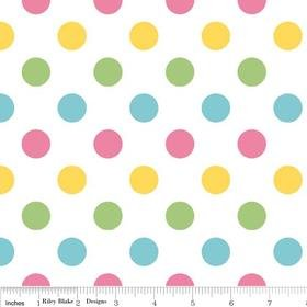 Riley Blake Designs Medium Dots Girl