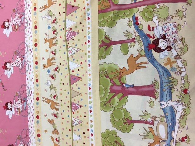 Sale Fabric border print