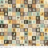 Sasparilla Alphabet Teal