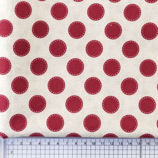 Sewn Spot - Carmaine Red - Tilda