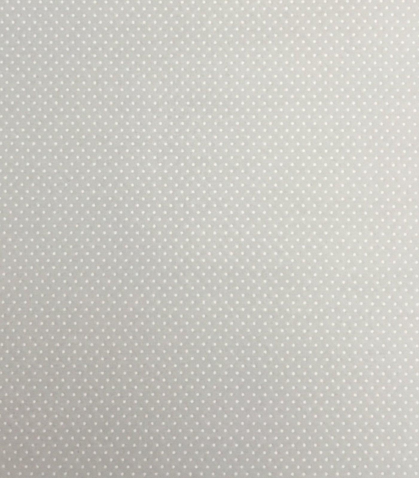 Adaman Coast - Silver Linings - White Microdot on Silver