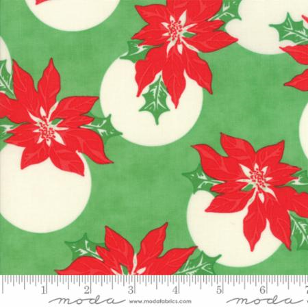 Swell Christmas - Coated Fabric - Green