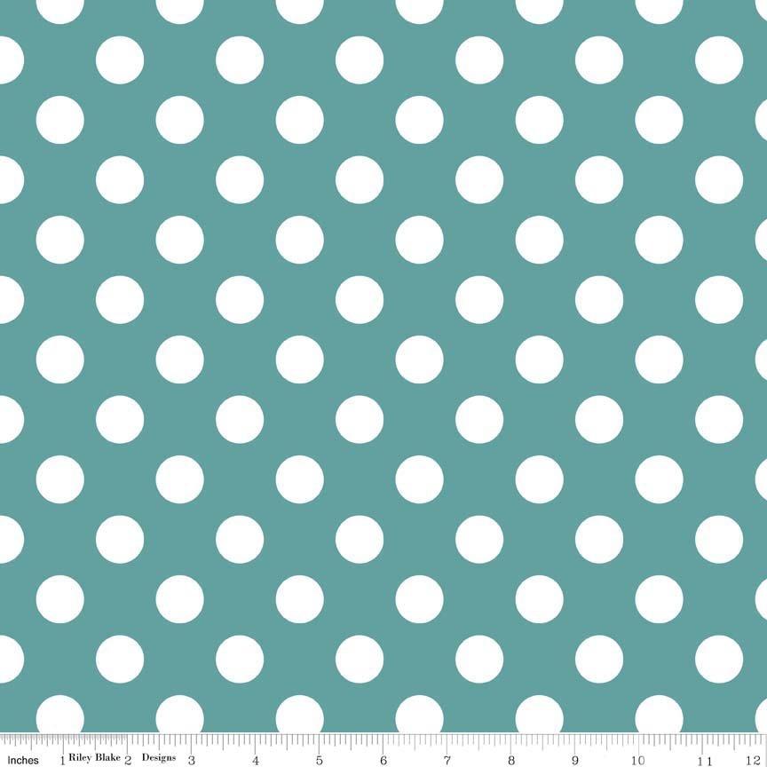 Dots - Teal- C360-26