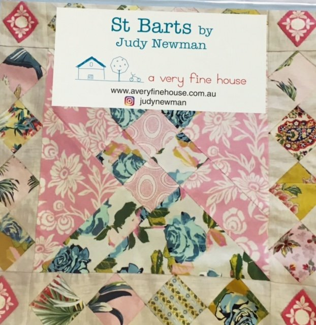 St Barts Template Set by Judy Newman