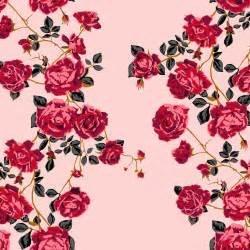 Floral retrospective Social Climber - Pink