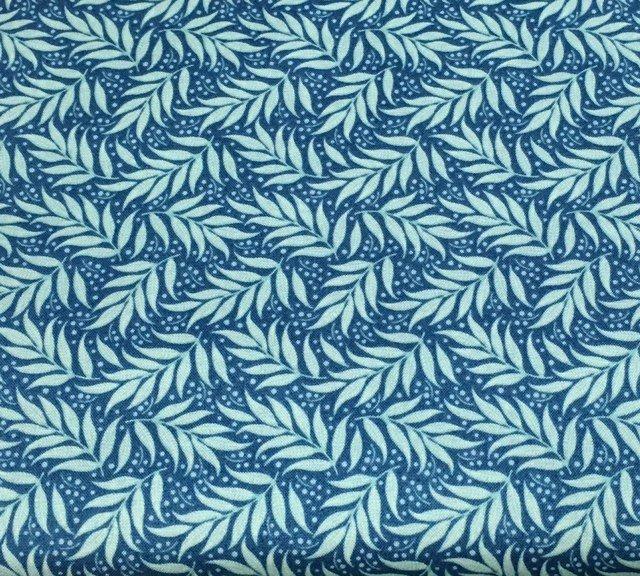 Cottage - Berry Leaf Blue 481525