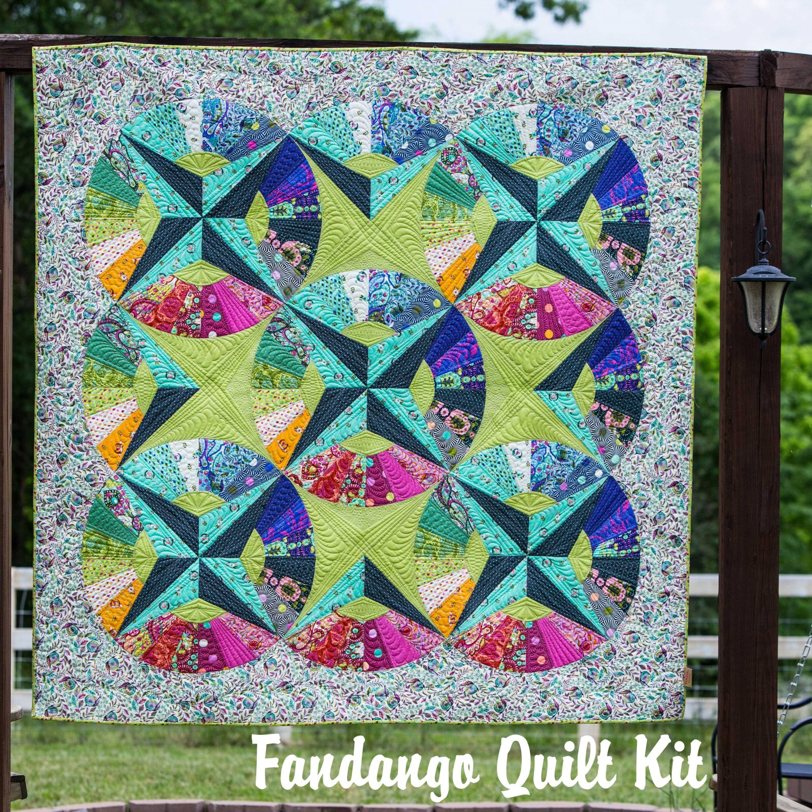 Fandango Quilt Kit by Tula Pink