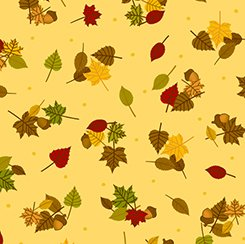 First Thanksgiving  - Yellow Leaves