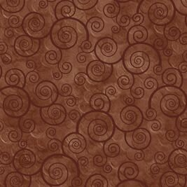 Curly Scroll Sable