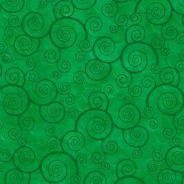 Curly Scroll - Shamrock