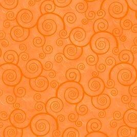 Curly Scroll Tangerine