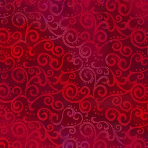 Ombre Scroll Ruby