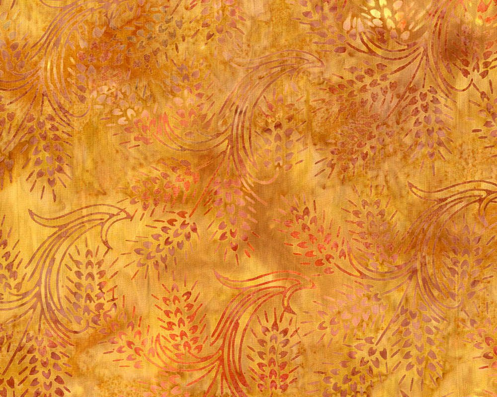 Wheat Gold Batik