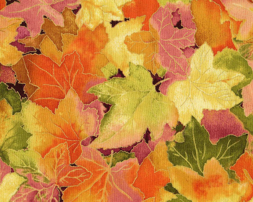 Autumn Air Leaves
